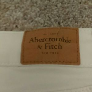Abercrombie & Fitch Jeans - White a&f skinny jeans